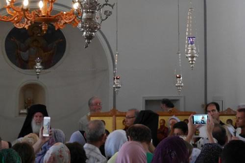 Ο Οικουμενικός Πατριάρχης στην Αττάλεια